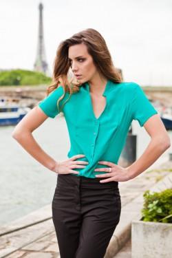 chemiser vert emeraude