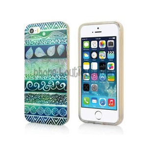 coque-semi-rigide-green-tribal-pour-iphone-5-et-5s