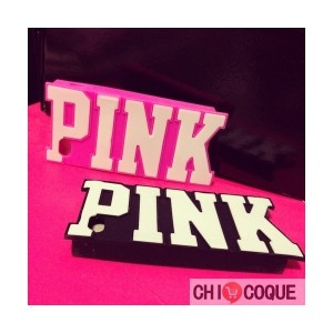 coque-pink-original-silicone-pour-iphone-5