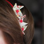 bijoux cheveux origami