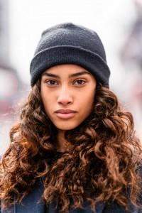 cheveux boucles bonnet