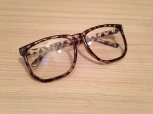 lunettes léopard