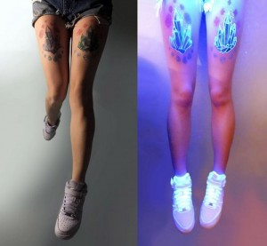 tatouage uv