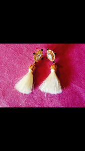 boucles pompoms zaful