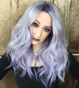 cheveux lilas 1