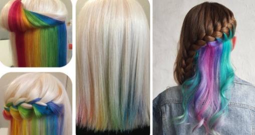 cheveux-arc-en-ciel