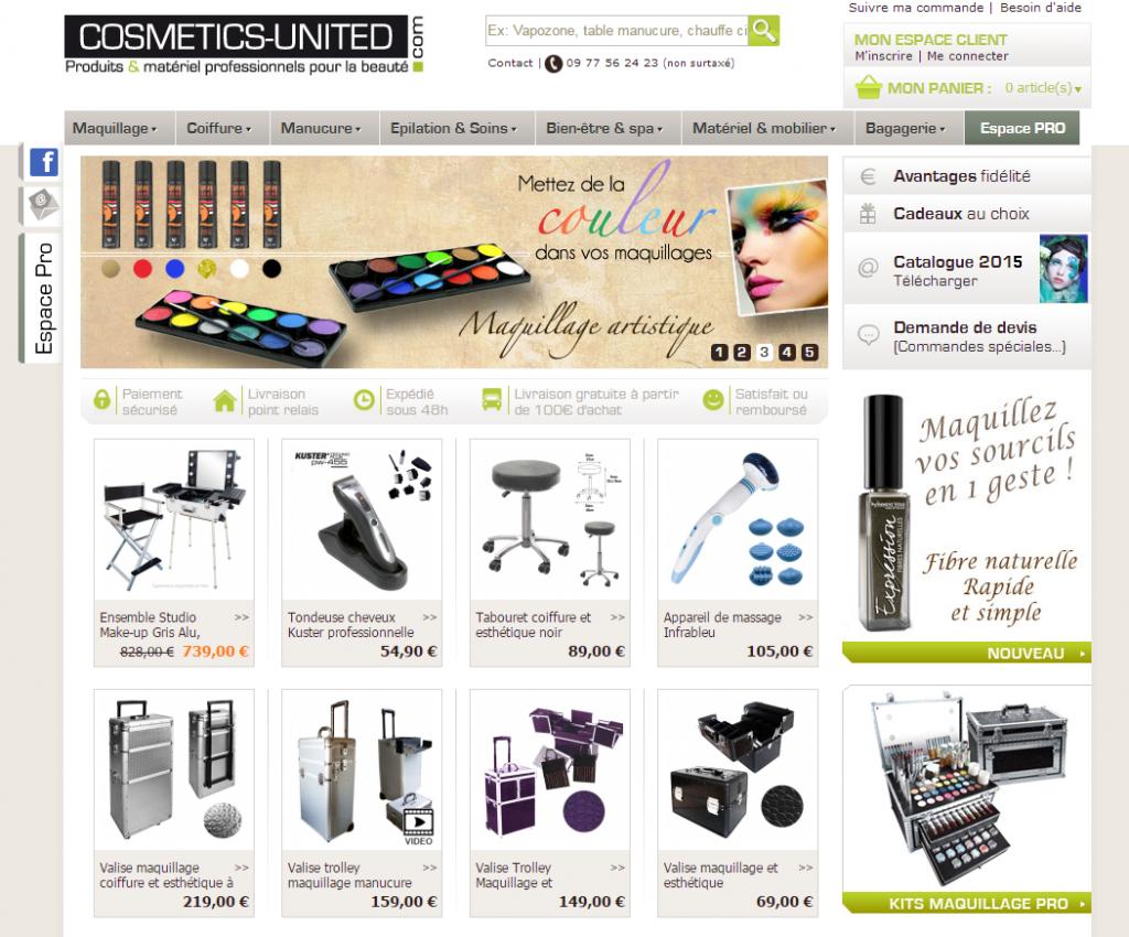 cosmetics united site