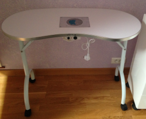 Cosmetics united le sp cialiste des tables manucure la - Table manucure pliante avec aspirateur ...