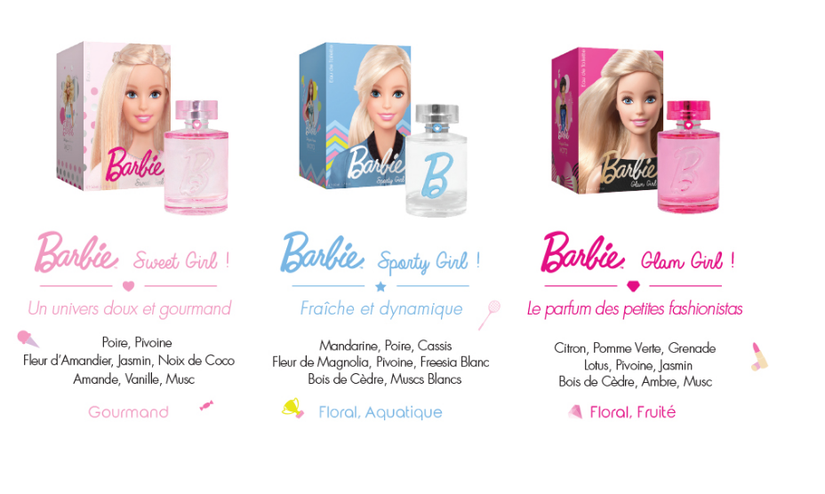 barbie koto parfums